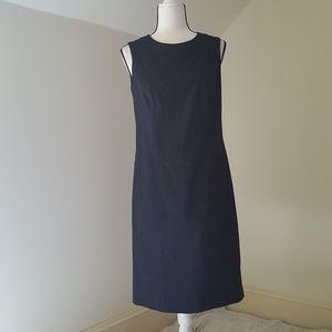 Brooks Brothers 346 black sheath dress sz 6
